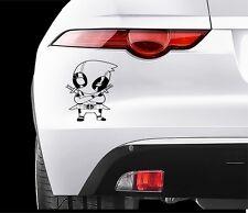 DEADPOOL Car VINYL STICKERS Bumper Van Window Laptop JDM DECALS