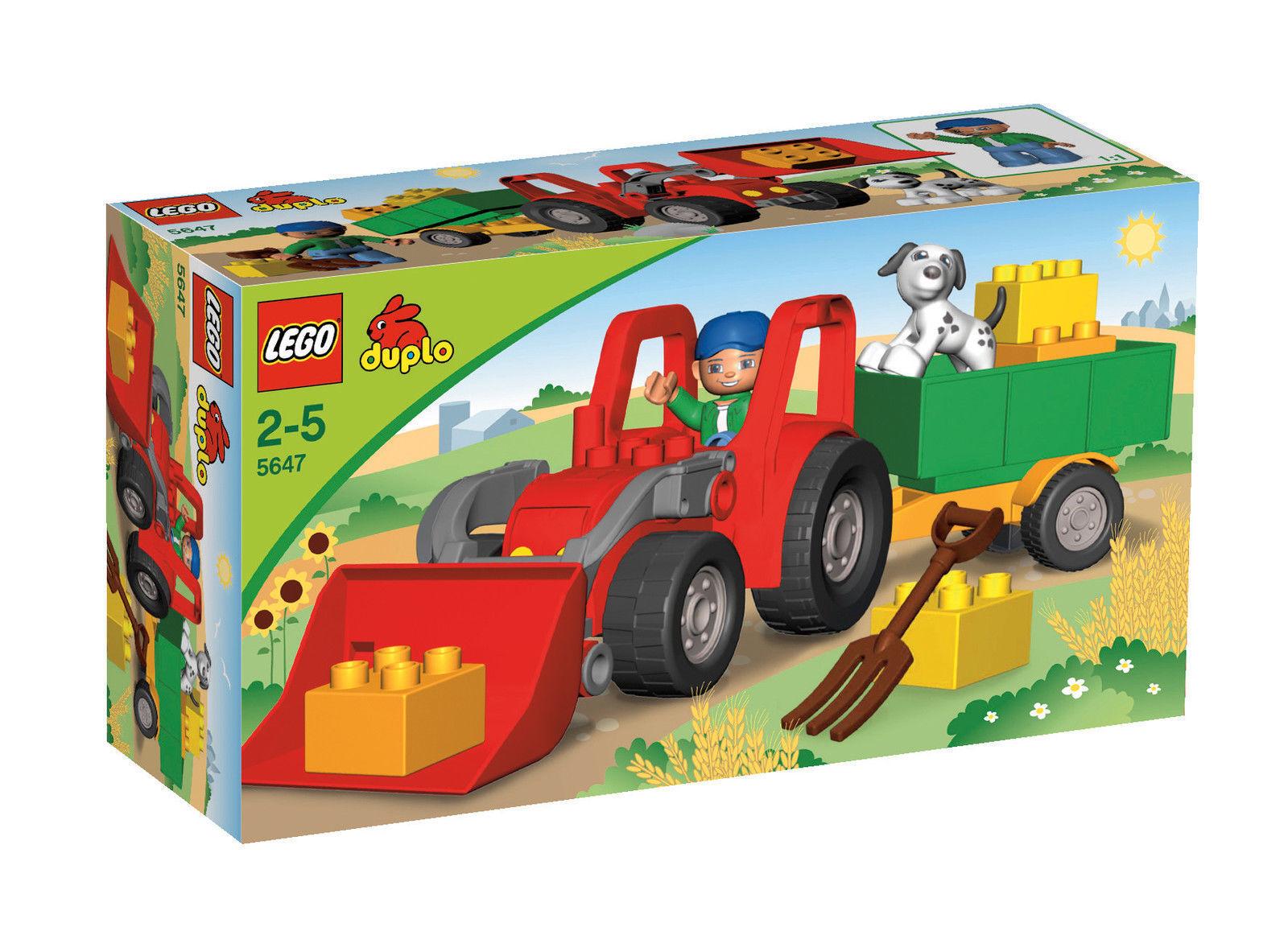 LEGO Duplo 5647 Großer Traktor neu und ovp