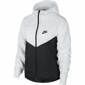 Pizza Boda notificación  Nike Sportswear Windrunner Cortavientos Blanco Mujer | eBay