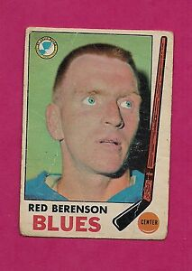 1969-70-OPC-20-BLUES-RED-BERENSON-CREASED-CARD-INV-A137