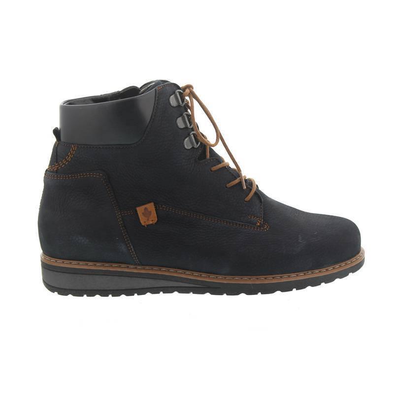 HUB Footwear Schuhe HALLY black schwarz Damen Stiefeletten Echtleder Ankle Boots