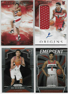 4-Rui-Hachimura-2019-20-ORIGINS-AUTO-PATCH-JERSEY-RPA-SP-RC-PRIZM-ROOKIE-LOT