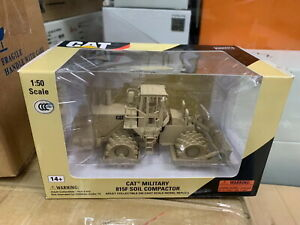 Norscot-1-50-Caterpillar-Cat-Military-815F-Soil-Compactor-Diecast-55254