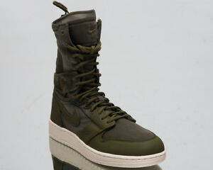49c5d2a979e56b Air Jordan 1 Explorer XX Women Lifestyle Shoes Olive Canvas Sneakers ...
