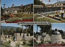 Alte Postkarte - Impressionen von Minimundus
