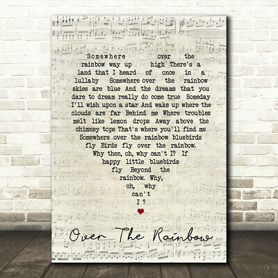 To Sir With Love Script Heart Quote Song Lyric Print