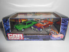 Hot Wheels 100% Car Craft 2 Car Collector Set '69 Olds 442 / '63 Plymouth Wedge