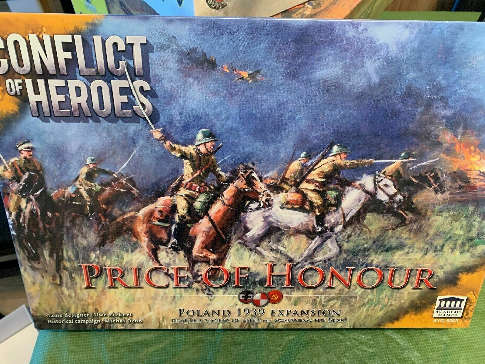 Conflict of Heroes Board Game - NEW SEALED