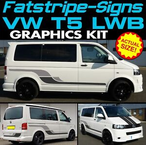 VW-TRANSPORTER-T5-LWB-GRAPHICS-STICKERS-STRIPES-DECALS-DAY-VAN-CAMPER-CONVERSION