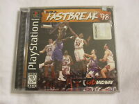 Nba Fastbreak '98 (playstation Ps1) Black Label Brand New, Sealed
