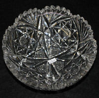 Libbey Signed American Brilliant Cut Glass Bowl
