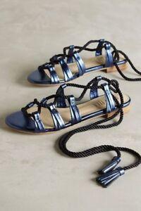 ea03469ee7ce Image is loading Anthropologie-BILLY-ELLA-7-9-Sandals-Lucerna-Gladiator-