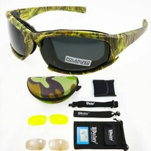Daisy X7 UVA//UVB Tactical Military Style Glasses Goggles Motorcycle SunglassesZX