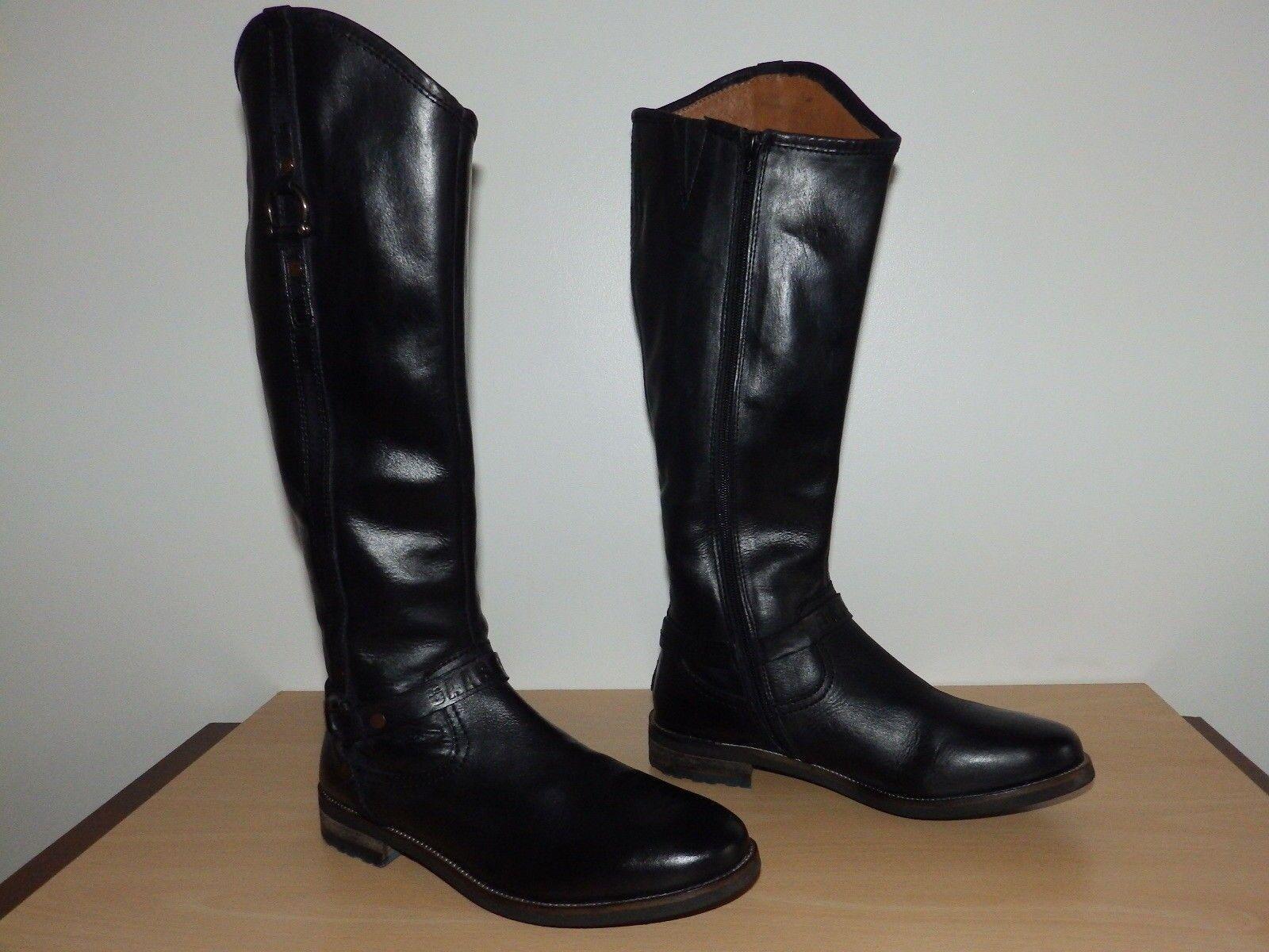 Gaastra Cuero botas botas botas Talla 7 Reino Unido  compras en linea
