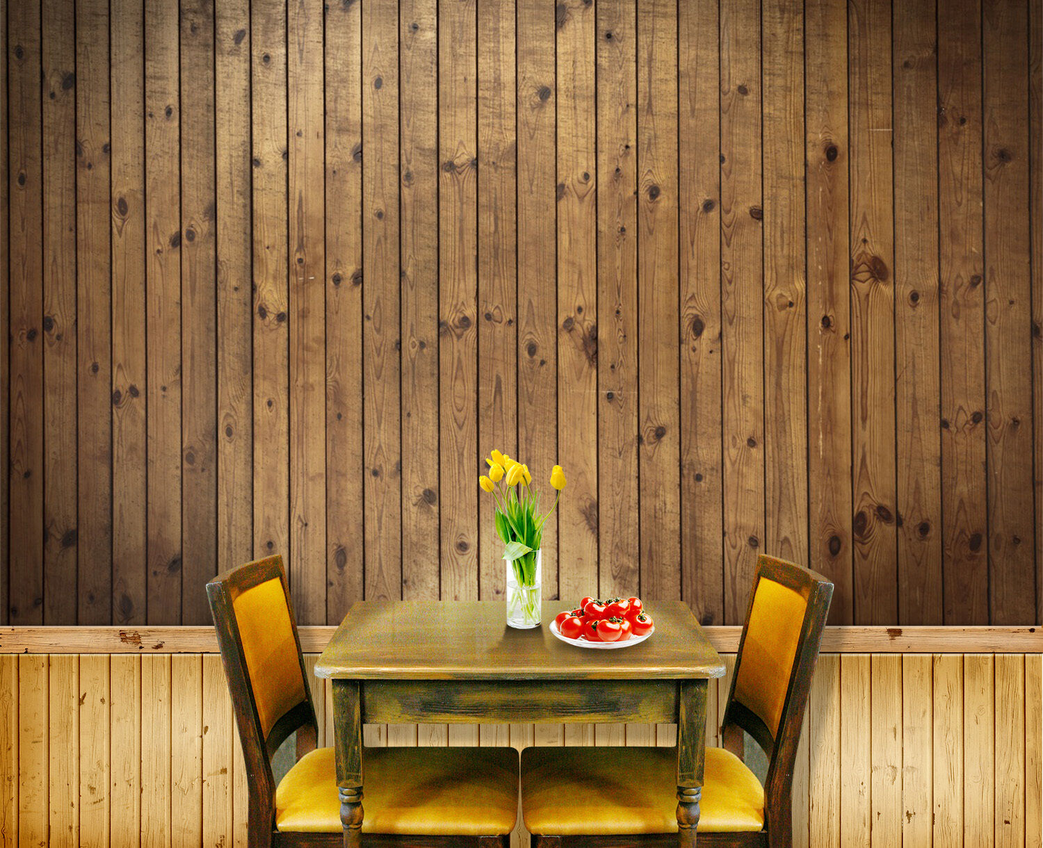 3D wood Texture picture Wall Paper Print Decal Wall Deco Indoor wall Mural