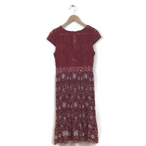 63d1763c6bb0 Image is loading Anthropologie-Plenty-Tracy-Reese-Dress-4-Arcadia-Midi-