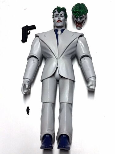 DC Multiverse JOKER DARK KNIGHT RETURNS Loose Complete No King Shark CnC Mattel