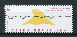Czech-Republic-2018-MNH-Jan-Kaplicky-National-Libary-1v-Set-Architecture-Stamps