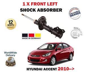 FOR HYUNDAI ACCENT RB 1.4 1.6 2010-> 1 X FRONT LEFT SIDE SHOCK ABSORBER SHOCKER