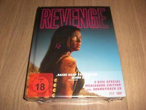 Revenge Limited Mediabook Blu-ray + DVD + Soundtrack CD NEU
