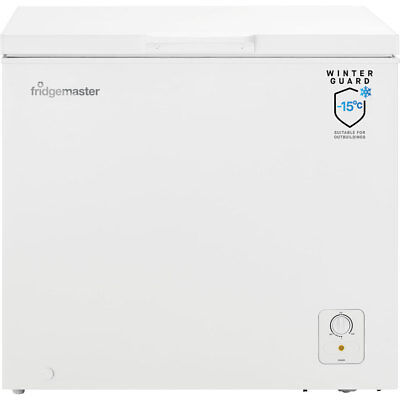 Fridgemaster MCF194 Free Standing 194 Litres A+ Chest Freezer White New