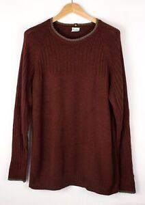 Columbia Herren Freizeit Strick Pullover Größe L ATZ360