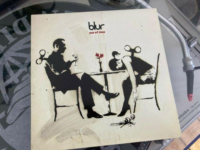 "Blur 'Out of Time' Rare 7""  Banksy Artwork 2003 NM"