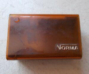 Ancienne-boite-plastique-Norma-Ampoules-voiture-auto-garage