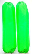 Shock Protector Covers Ski-Doo Bombadier BRP Neon Green Snowmobile Sled Set 2