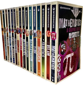Introducing-Graphic-Guide-16-Books-Collection-Set-Series-3-and-4-Mathematics