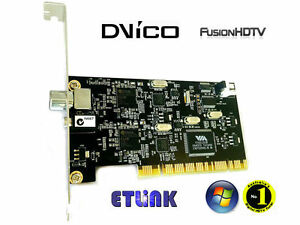 DVICO FUSIONHDTV DVB-T PLUS WINDOWS 10 DRIVERS