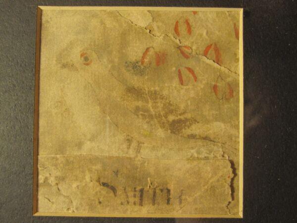 100% De Calidad Antiguo Vuelta 18th Siglo Raro American Folk Art Ave Pintura Nombre Smith