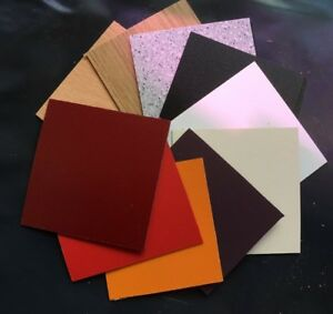 Formica Type Laminate Sheets Various Colours 600 X 300mm