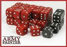Army Painter Dice D6 14mm 36 Die Set Black/Red TAP TL5018