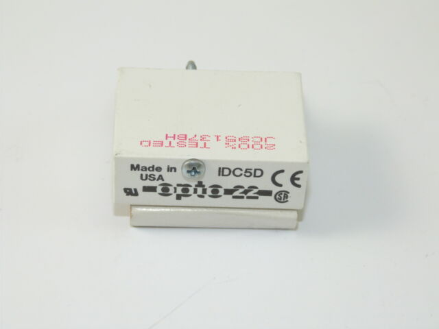 OPTO 22 Relay Module IDC5D