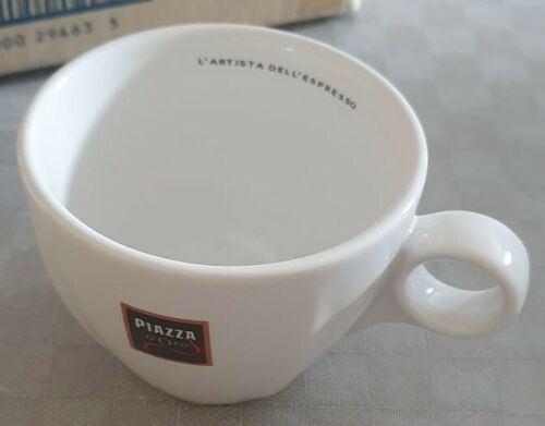 18 X Piazza D/'oro Cappuccino Tassen NEU Rarität Klassiker nicht mehr verfügbar