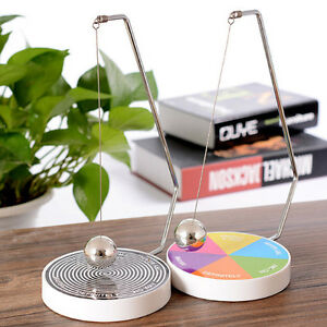 Image Is Loading Creative Decision Maker Ball Swing Pendulum Dynamic Desk