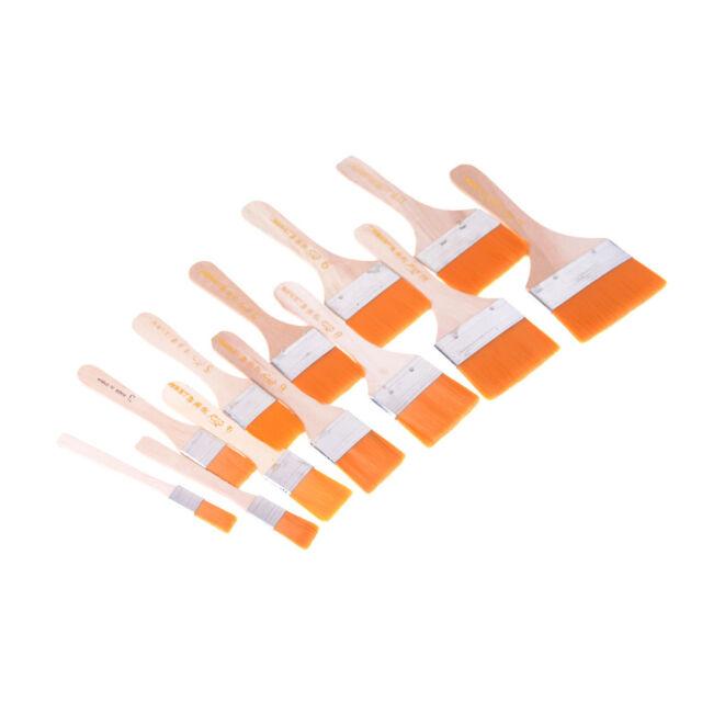 2pcs Nylon Scrubbing Brush Painting Art Supplies Long-Handled Paintbrush &#