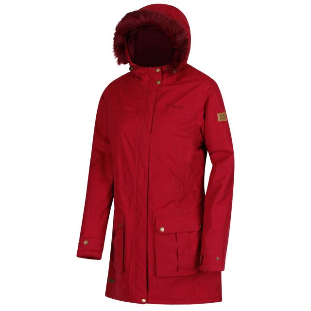 Regatta Damen Sherlyn Waterproof and Thermoguard Insulated Faux Fur Hooded Jacke
