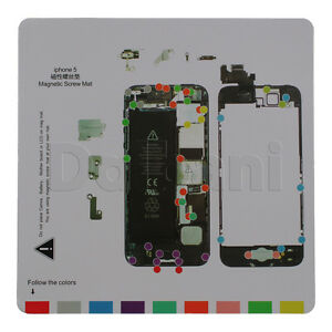 41-02-0834-Brand-New-Magnetic-Screw-Mat-Map-for-iPhone-5G