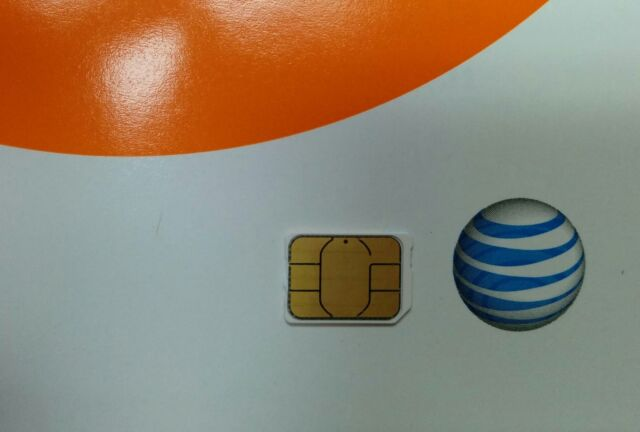 NEW UNACTIVATE, AT&T FACTORY NANO SIM LOOSE. 4G LTE simcard,