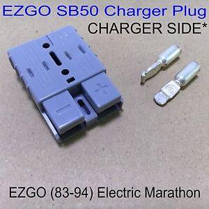 ezgo electric sb50 charger side charger plug receptacle 83. Black Bedroom Furniture Sets. Home Design Ideas