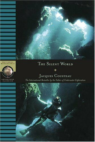 Silent World (National Geographic Adventure) by Jacques Cousteaub [Hardcover]NEW