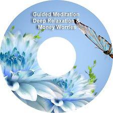 2 x Guided Meditation Help With Money Si preoccupa & Profondo Relax su 1 CD