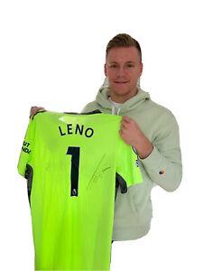 Handsigniertes Trikot Von Bernd Leno FC Arsenal