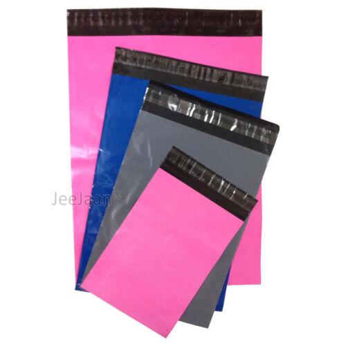 50 Mixte Taille Rose Bleu Gris Postal Envoi Courrier Sacs