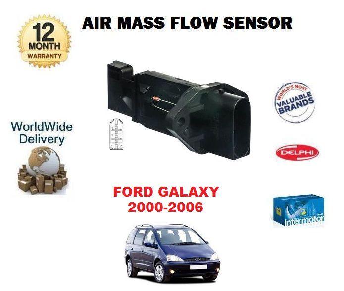 Für Ford Galaxy 2.8 V6 2000-2006 MPV  Neu Luftmassenmesser  100% genuine counter guarantee