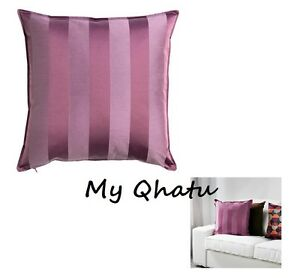 ikea henrika cushion covers zipper 20 x 20 decorative pillow lilac new ebay. Black Bedroom Furniture Sets. Home Design Ideas