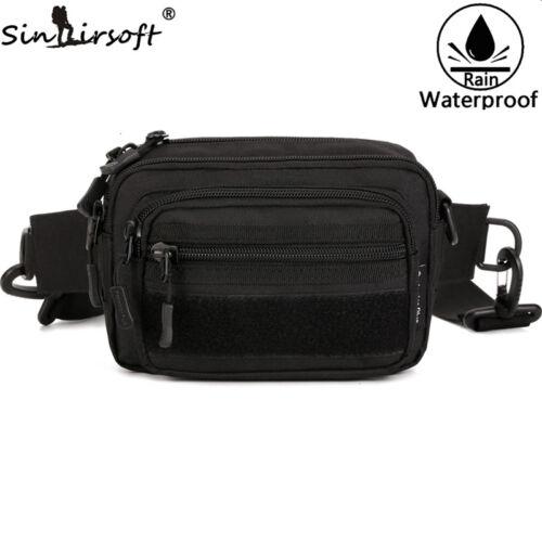 Tactical Outdoor MOLLE Pouch Travel Work Handbag//Shoulder Waist Fanny Pack Bag