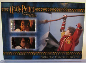 Harry-Potter-and-the-Sorcerer-039-s-Stone-Cinema-Film-Card-FilmCard-Quidditch-amp-Wand